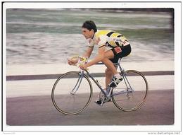 Carte ( Format 15 X 10 Cm ) Cyclisme Cycliste éric Boyer  Né à Choisy Le Roi ( Système U Et Cycles Gitane ) Recto Verso - Wielrennen