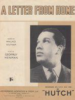 A Letter From Home Hutch 1940s Sheet Music - Partituren