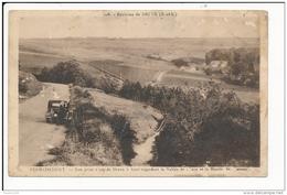 Carte Des Environs De Dreux  FERMAINCOURT  ( Moulin ) Mauvais état Dommage Car Peu Courante ( Recto Verso ) - Otros Municipios