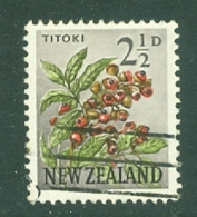 New Zealand: 1960/66   Pictorial   SG784   2½d    Used - New Zealand