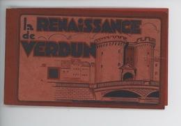 "Verdun : Jaquette ""la Renaissance De Verdun"" Carnet Vide - Verdun"