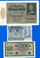All 9  Billets - [ 3] 1918-1933: Weimarrepubliek