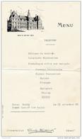 Menu De L' Hôtel Hardy à Saint Honoré Les Bains ( Champagne Heidsieck Reims )  1962 ( Recto Verso ) - Menus