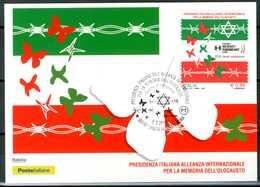 ITALIA / ITALY 2018 - Memoria Dell' Olocausto - Maximum Card, Come Da Scansione. - Seconda Guerra Mondiale