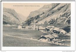 Carte Le Mont Iseran  Source De L' Isère Au Val D' Isère  ( Recto Verso ) - Val D'Isere