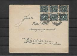 Deutsches Reich - Infla - Brief 02.07.1923 / Singen Am Hohentwiel Nach Müllheim In Baden / Siehe Fotos - Germania
