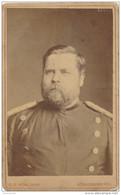 CDV Photo Photographe C E SCHLUNCK  à KONIGSBERG  Militaire Allemand   ( Recto Verso ) - Anciennes (Av. 1900)