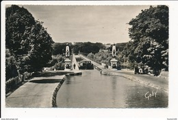 Carte De BRIARE  Le Pont Canal ( Péniche ) ( Format C.P.A ) ( Recto Verso ) - Briare
