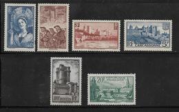 France Timbres De 1938 N°388 A 394 Neufs ++ Gomme Parfaite Cote 111,50 € - Frankreich