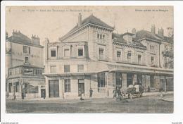 Carte De Dijon Gare Des Tramways Boulevard Sévigné  ( Recto Verso ) - Dijon