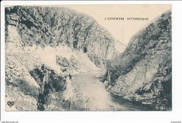 Carte Les Gorges  De Chouvigny  Vue Prise Sur Le Tunnel ( Recto Verso ) - Altri Comuni