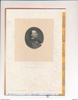 Dessin  De VICTOR HUGO  D' Après Une Photographie Faite En 1857 ( Paul Chenay Sc ) Page D' Un Livre Ancien Je Pense - Vieux Papiers