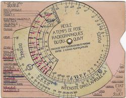 75 Paris 75014   Regle   Pivotante A Temps De Pose Radiographiques Quivy  Etablissement Varay  6 Rue Victor-considerant - Distrito: 14