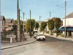 78 - GARGENVILLE - HÔTEL RESTAURANT TABAC DE LA GARE - CITROËN DS - BORNE MICHELIN - Non Circulée - 2 Scans - - Passenger Cars