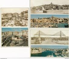 LOT De 9 Cartes De MARSEILLE Hier Aujourd'hui Format 15 X 10 Cm ( Recto Verso ) - Marseilles