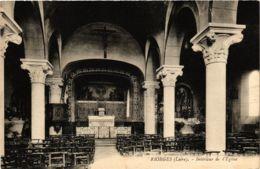 CPA Riorges - Interieur De L'Eglise FRANCE (915498) - Riorges