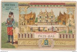 Chromo  Exposition Universelle De 1900 Pays Bas Publicité BRILLANT ORIENTAL - A. HAUTON, Seul Fabricant à SAINT NAZAIRE - Chromos