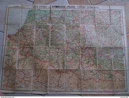 Carte  TARIDE Routière N° 22 Pyrénées Section Ouest    ( Sur Toile / Ou Carte Toilée ) - Strassenkarten