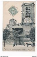 Carte D' AUBERVILLIERS  Envoyée Chez L' Abbé De Leuville Sur Orge ( Recto Verso ) - Aubervilliers