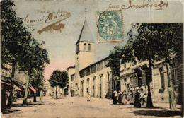 CPA Cours - Place De La Mairie FRANCE (915820) - France