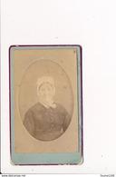 CDV  Petite Photo Sur Plaque Cartonnée Du Photographe C. Varé 4 Villa Aubert à BOIS COLOMBES - Ancianas (antes De 1900)
