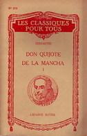 Don Quijote De La Mancha Tome I De Miguel De Cervantès (1951) - Livres, BD, Revues