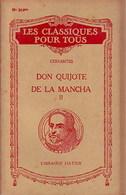 Don Quijote De La Mancha Tome II De Miguel De Cervantès (1946) - Livres, BD, Revues