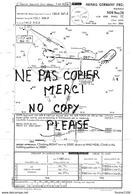 1 Feuille De Cartographie De Navigation Aérienne Du Terminal  De  HANAU    Jeppesen Aviation Aéroport - Mapas