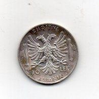 Italia - 1939 - Colonia Albania - 10 Lek - Argento - Vittorio Emanuele III° - (MW2684) - Albania