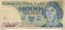 Billet  De Banque Narodowy Bank Polski  1000 Tysiac Zlotych - Poland