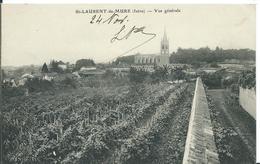 SAINT- LAURENT-DE-MURE  ( ISÈRE )  VUE GÉNÉRALE - Frankrijk