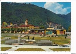 Carte ( Format 15 X 10 Cm ) Swissminiatur Lugano Melide  Aéroport De Zurich Kloten ( Recto Verso ) - TI Tessin