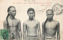 Viet-Nam - Cochinchine - Tonkin - Hanoï - Chinois Mécaniciensà Bord Des Chaloupes - Vietnam