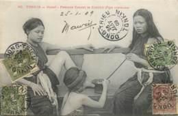 Viet-Nam - Cochinchine - Tonkin - Hanoï - Femmes Fumant Le Kédillot - Vietnam