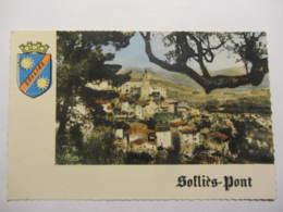 Cpsm SOLIES-PONT (83) Panorama - Sollies Pont