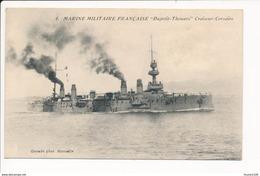 Carte De La Marine Militaire Française  DUPETIT THOUARS Croiseur Corsaire  ( Guende )  ( Bateau De Guerre ) - Oorlog