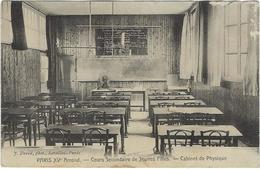 75 Paris 75015  Cours Secondaire De Jeunes Filles Cabinet De Physique - Distretto: 15