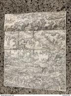 CARTE ETAT MAJOR ENTOILEE SOISSONS FERE EN TARDENOIS BRAINE NEUILLY SAINT FRONT VENIZEL JUVIGNY VAUDESSON CHASSEMY - Carte Topografiche