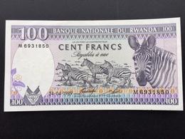 RWANDA P19 100 FRANCS 24.04.1989 UNC - Rwanda