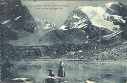 ( COL DE LA VANOISE ) ( 73 SAVOIE ) LE LAC DES VACHES ET LA GRANDE CASSE - Pralognan-la-Vanoise