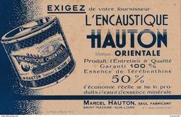 BUVARD Encaustique  Hauton  Fabricant à SAINT NAZAIRE 44 - Produits Ménagers