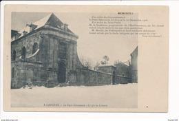 Carte De Langres  Le Petit Séminaire  Ci Git La Liberté  Mémento ( Neige ) ( Recto Verso ) - Langres