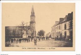Carte  D' Inguiniel La Place ( Recto Verso ) - Otros Municipios