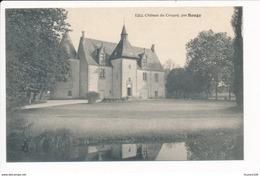 Carte Du Château De Coupoy Par BAUGY  ( Recto Verso ) - Baugy