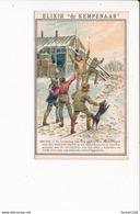 Chromo ELIXIR DE KEMPENAAR Gezondheids Likeur 1900 1903 De Boodsschap Van Den Zweedschen Nordenskjold - Cromos