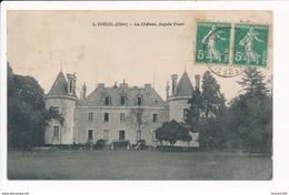 Carte D' Ineuil Le Château  ( Recto Verso ) - Otros Municipios