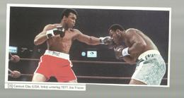 ** 1 X CASSIUS  CLAY  / JOE  FRAZIER ---1971---knipsel ! - Trading Cards
