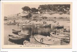 Carte De Sausset Les Pins  Le Port  ( Recto Verso ) - Andere Gemeenten