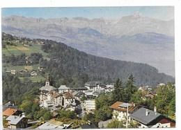 SAINT GERVAIS LES BAINS - Dans Le Fond,la Chaîne Des Aravis Et La Pointe Perçée - Saint-Gervais-les-Bains