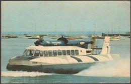 The SR-N6 Seaspeed Hovercraft, 1967 - WJ Nigh Postcard - Hovercrafts